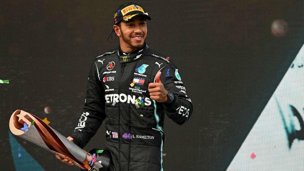 Lewis Hamilton sigue haciendo historia.