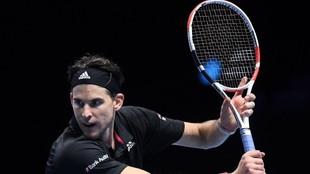 Dominic Thiem ganó a Djokovic en las semifinales del Master.