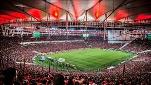 Imagen del estadio Maracaná.