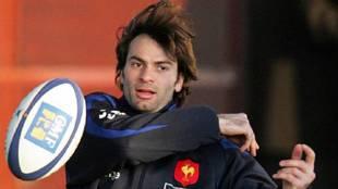 Dominici, en su etapa en la selección francesa de rugby