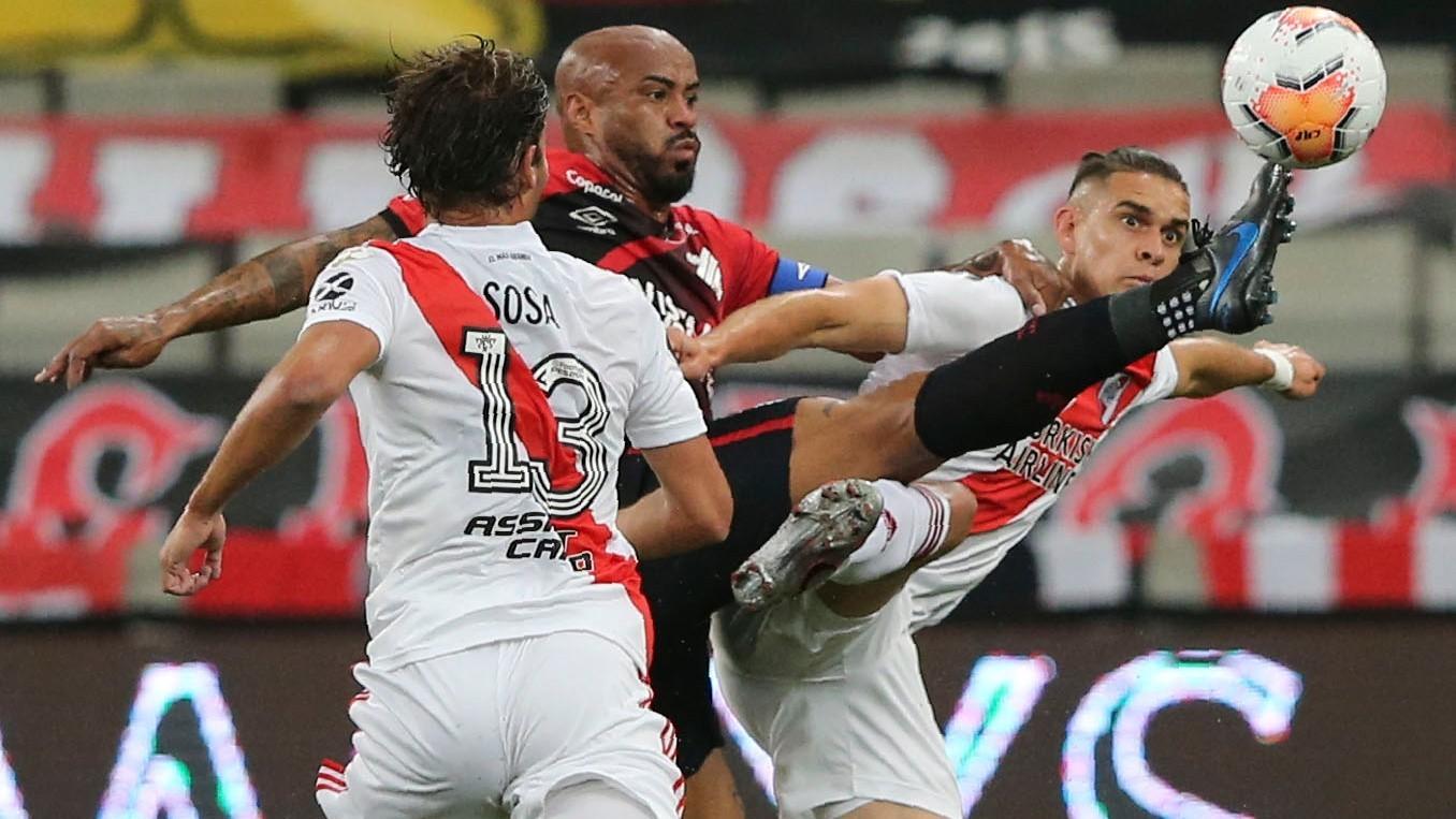 Futbol en vivo: Athletico Paranaense vs River Plate en vivo por la Copa  Libertadores 2020: octavos de final (ida) | MARCA Claro Argentina