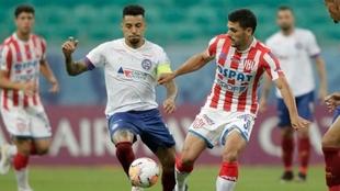 Unión cayó ante Bahía en el duelo de ida de la Copa Sudamericana