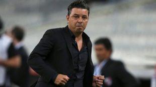 Marcelo Gallardo y el partido de River vs Athletico Paranaense