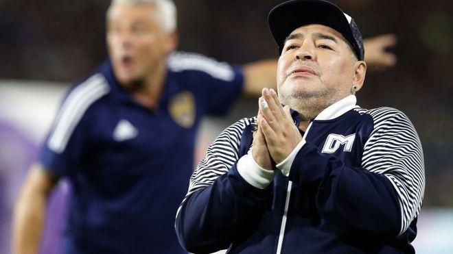 Diego Maradona falleció a los 60 años