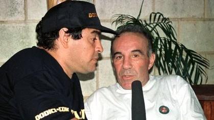 Alfredo Cahe, histórico médico de Maradona: \