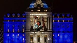 Homenaje a Maradona en distintos sitios de Argentina