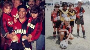 Diego Maradona y su debut en Newell's
