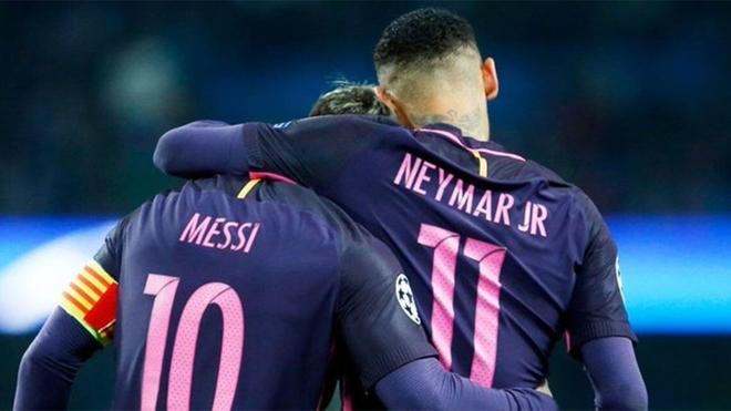 """El sueño de Neymar: """"Quiero volver a jugar con Messi"""""""