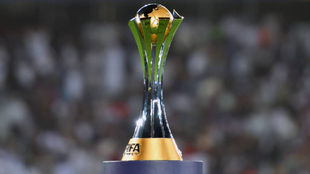 El trofeo del Mundial de Clubes
