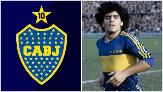 Boca y la posibilidad de cambiar su escudo por Maradona