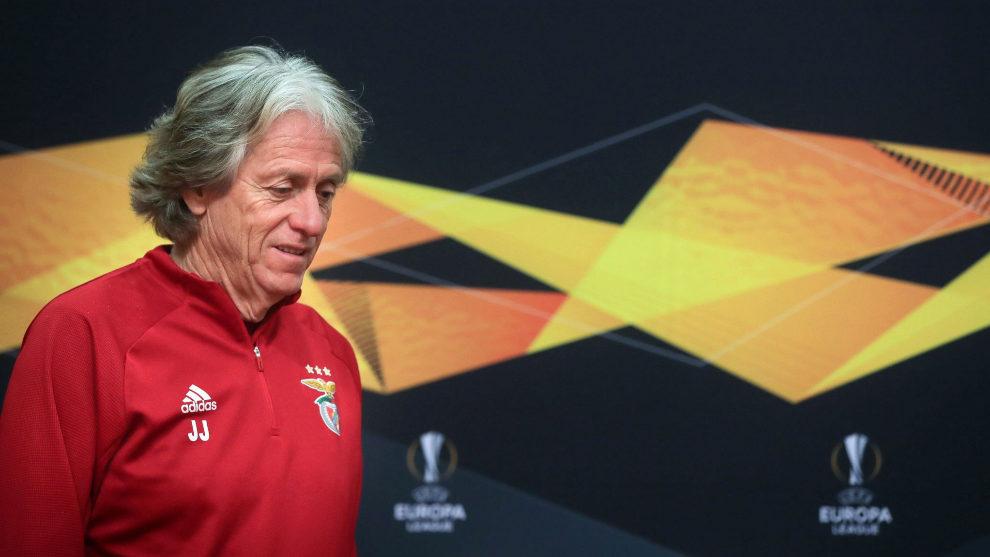 Jorge Jesús ha comparecido en la previa de la Europa League