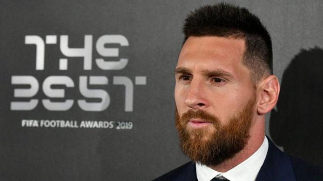 Messi está entre los tres candidatos.