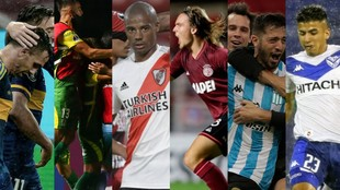 Boca, Racing, River, Defensa, Vélez y Lanús, van por la gloria.
