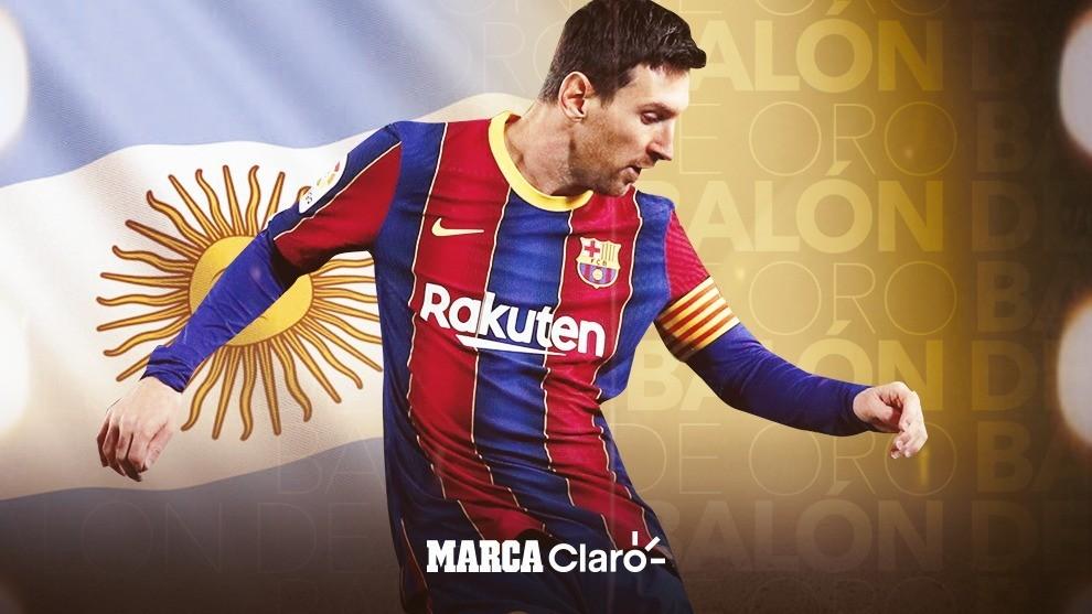 Leo Messi, el mejor argentino de la temporada.
