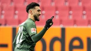 Nicolás González brilla en la Bundesliga