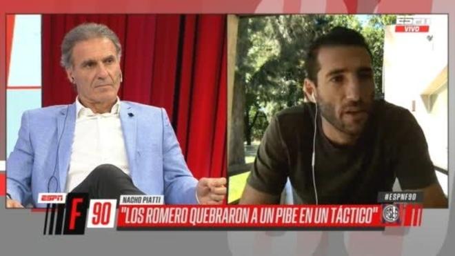 Ignacio Piatti y una explosiva entrevista en ESPN