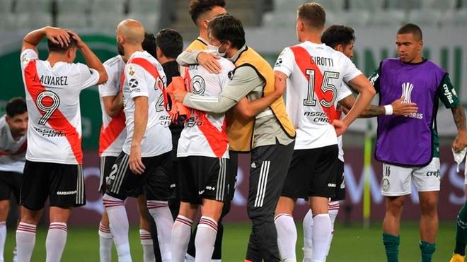 River quedó eliminado ante Palmeiras en Brasil