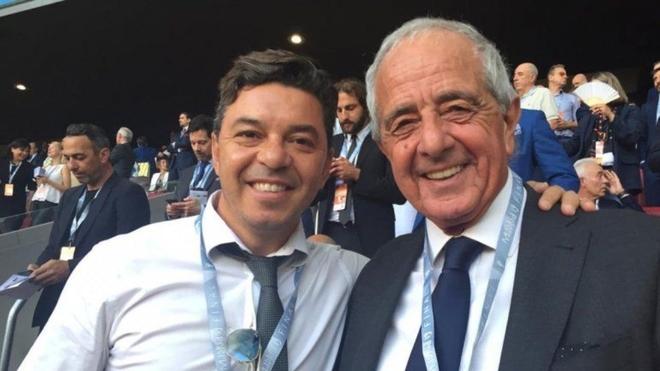 Marcelo Gallardo y Rodolfo D'Onofrio