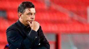 Mariano Closs resaltó el trabajo de Marcelo Gallardo