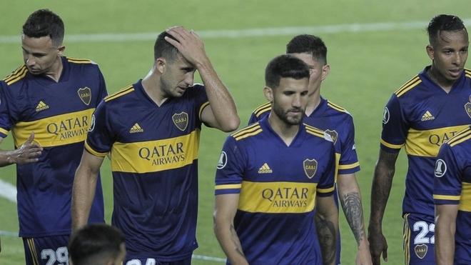 Boca perdió en Brasil.