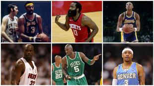 Harden y otros MVP que cambiaron de equipo: Shaq, Garnett, Iverson,...