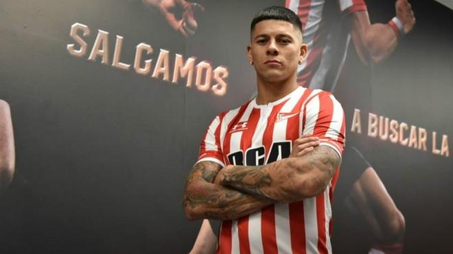 Marcos Rojo podría volver a Estudiantes de La Plata