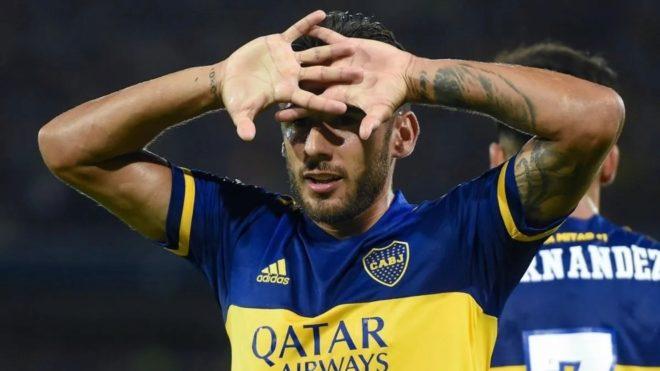 Toto Salvio no tuvo un buen partido ante Santos