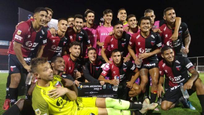 Colón avanzó en la Copa Argentina