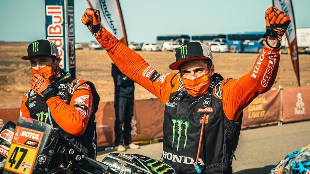 Kevin Benavides le da a Honda su segundo Dakar consecutivo