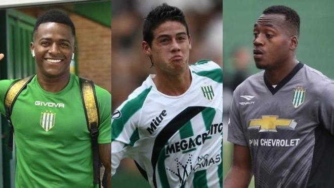 Cuero, James y Arboleda, los colombianos de Banfield.