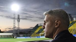 Hernán Crespo está en la final de la Copa Sudamericana con Defensa y...