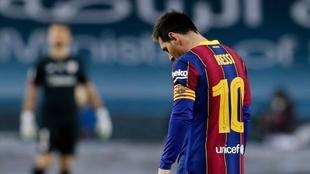 Supercopa de España: Leo Messi, expulsado vs Athletic Club