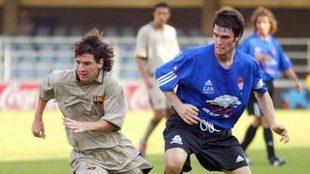 Leo Messi fue expulsado en la final de la Supercopa de España