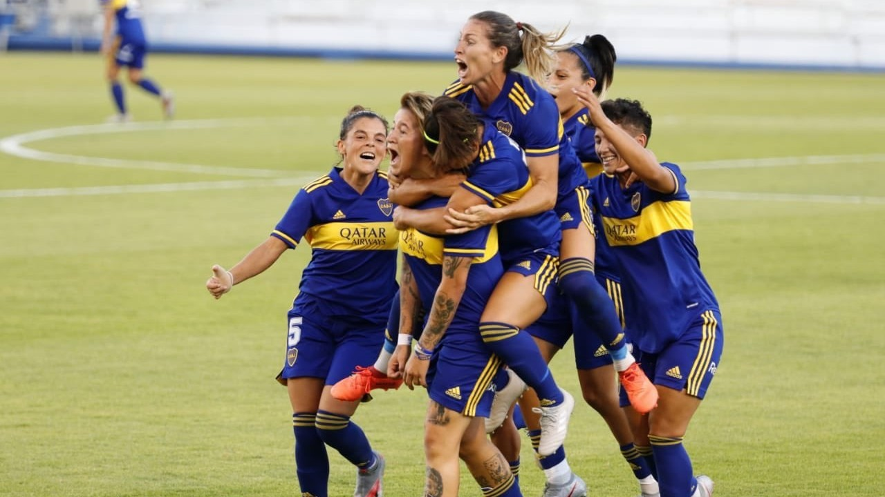 Boca golea a River y se consagra campeón del Fútbol Femenino