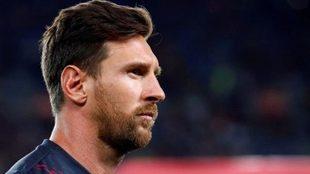 Leo Messi, en la mira del PSG.