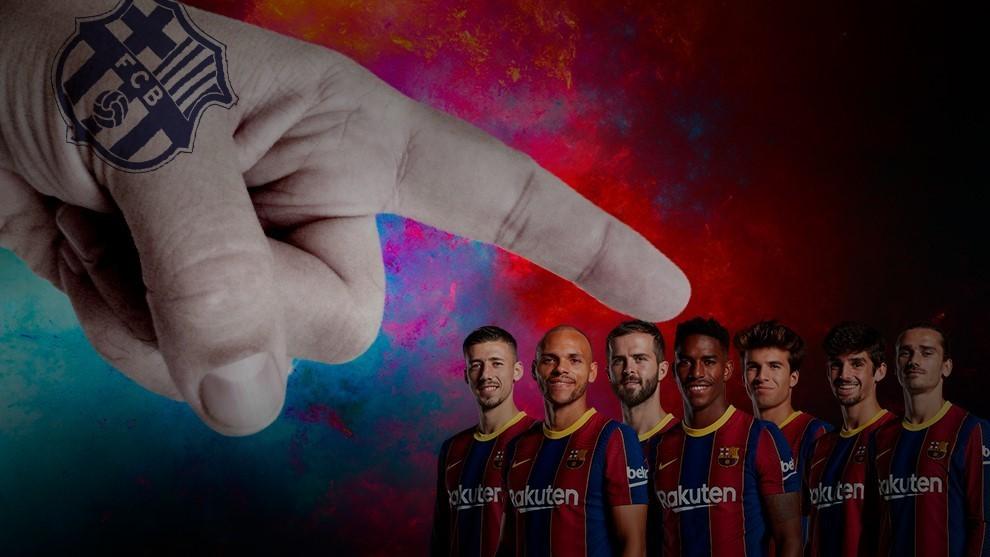 Los señalados del Barcelona