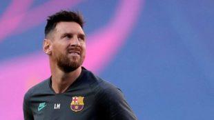 Messi se podría juntar con el Kun en Barcelona.