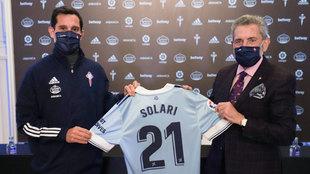 Augusto Solari llevará el '21' en el Celta.