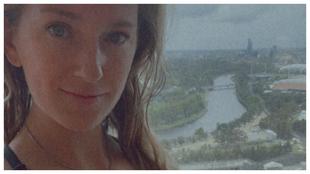 Azarenka, desde la habitación del hotel.