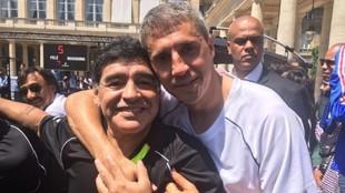 El emocionante recuerdo de Crespo a Maradona