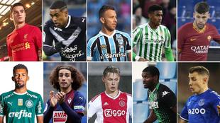 Jugadores que forman parte de la deuda que tiene el Barcelona.