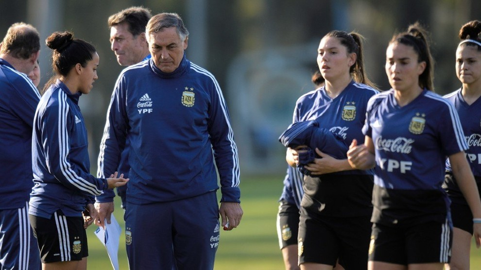 Carlos Borrello, director técnico del equipo.
