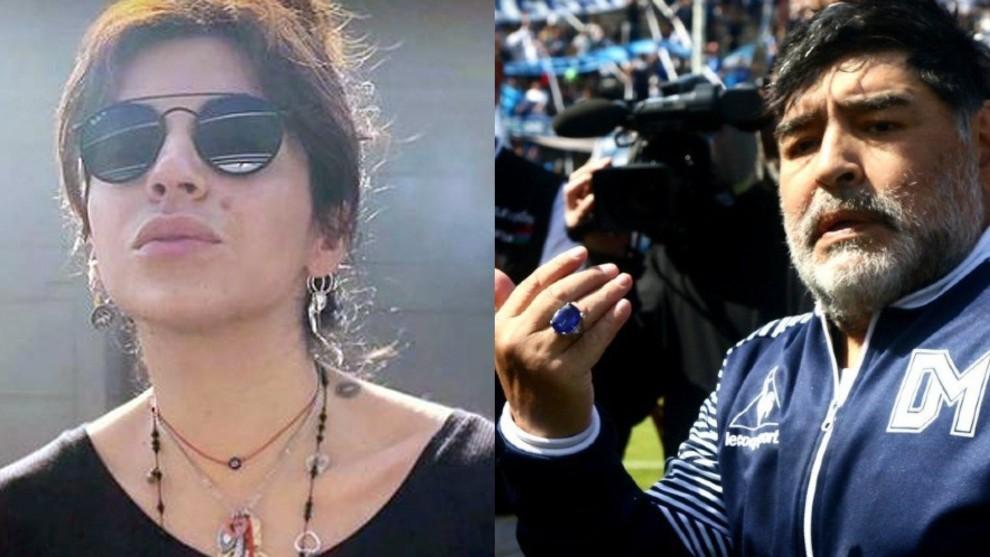 Giannina Maradona niega tener el anillo de su padre.