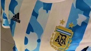 La nueva camiseta de la Selección Argentina 2021