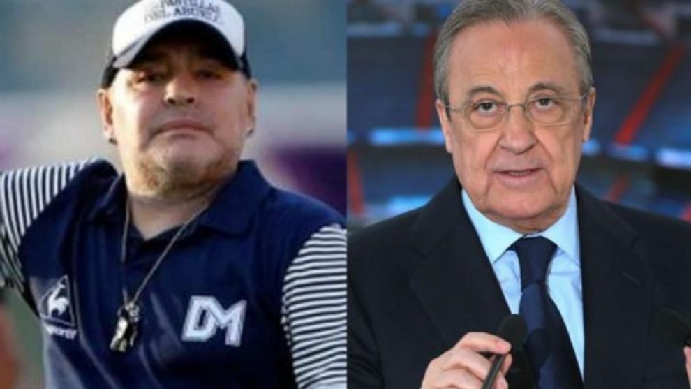 Diego Maradona recomendó a Florentino Pérez que fiche a Kylian...