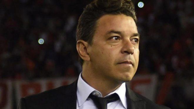 Gallardo rechazó al Barcelona.
