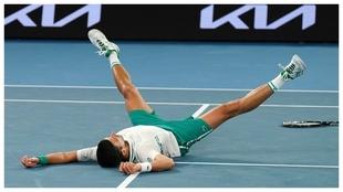 Djokovic venció a Medvedev y obtuvo el título en Australia