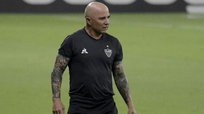 Jorge Sampaoli se marcha del Atlético Mineiro