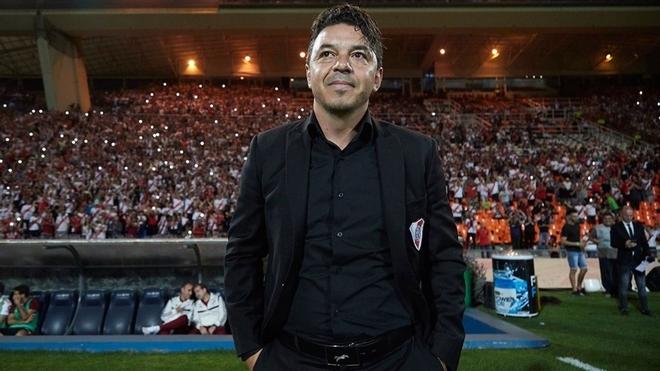 Marcelo Gallardo, entrenador de River Plate