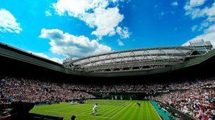 Imagen de la pista central de Wimbledon.